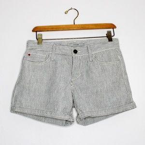 Joe's Jeans Pinstripe Cotton Shorts Size 25